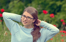 Portrait of young girl Stock Images