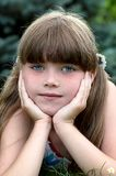 Portrait of young girl Royalty Free Stock Photo
