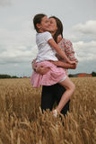 Portrait of young girls Royalty Free Stock Image