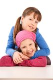 Portrait of young girls Royalty Free Stock Photos