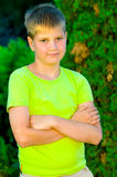Portrait of a young guy Royalty Free Stock Images