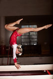 Portrait of young gymnasts Stock Image