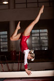 Portrait of young gymnasts Royalty Free Stock Photography