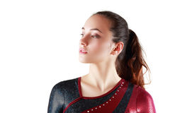 Portrait of young gymnasts Royalty Free Stock Images