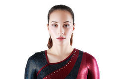 Portrait of young gymnasts Stock Images