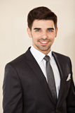 Portrait of a young handsome business man Royalty Free Stock Image