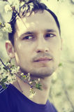 Portrait of young handsome man Royalty Free Stock Images