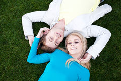 Portrait of a young happy couple in love Royalty Free Stock Image
