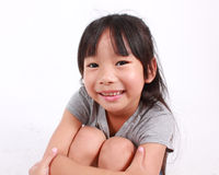 Portrait of young happy girl Royalty Free Stock Image