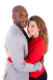 Portrait of a young happy mixed couple Stock Photography