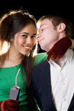 Portrait of young happy pair Royalty Free Stock Images