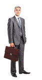 Portrait of young happy smiling cheerful business man Stock Photos