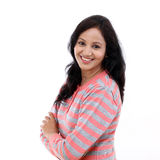 Portrait of young happy woman Royalty Free Stock Photography