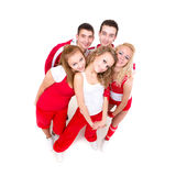 Portrait of a young hip hop dancers Royalty Free Stock Photography