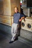 Portrait of Young Hispanic American Man Stock Photos