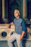 Portrait of Young Hispanic American Man Royalty Free Stock Photos