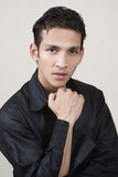 Portrait of young indian. Fashion model Royalty Free Stock Photos