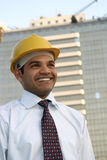 Portrait of young indian architect royalty free stock images