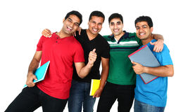 Portrait of Young Indian/Asian group. Royalty Free Stock Images