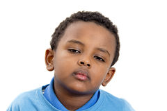 Portrait of a young kid Stock Photo