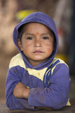Portrait of young kid, Venezuela Stock Image