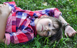 Portrait of young kid Royalty Free Stock Images