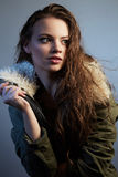 Portrait of young lady Stock Images