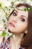 Portrait of a young lady Royalty Free Stock Photo