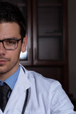 Portrait Of Young Male Doctor Stock Images