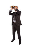 Portrait of a young male entrepreneur looking for business oppor Stock Photo