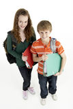 Portrait Of Young Male And Female Students Stock Image