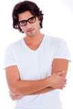 Portrait of young man royalty free stock photography