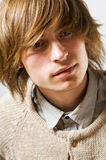 Portrait of young man Royalty Free Stock Photos