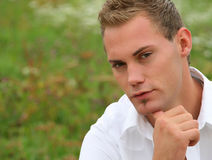 Portrait of a young man Royalty Free Stock Images