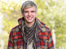 Portrait of young man Royalty Free Stock Photo