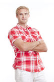 Portrait of a young man Royalty Free Stock Image