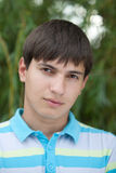 Portrait of young man Royalty Free Stock Images
