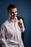 Portrait of a young man Stock Photos