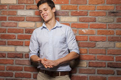 Portrait of young man Stock Images