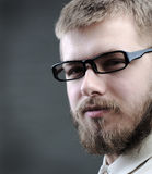 Portrait of young man with beard Royalty Free Stock Image
