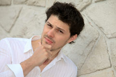 Portrait of a young man Stock Photography