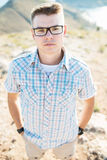 Portrait of the young man Royalty Free Stock Images