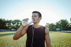 Summer Workout royalty free stock image