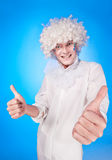 Portrait of a young man in fancy dress Stock Photo