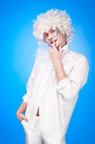 Portrait of a young man in fancy dress Royalty Free Stock Image