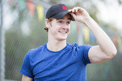 Portrait of a young man Royalty Free Stock Photo