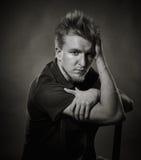 Portrait - young man Stock Images