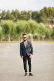 Portrait of young man - Hipster Royalty Free Stock Photography