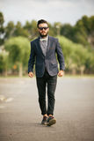 Portrait of young man - Hipster Royalty Free Stock Images