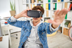 VR Game stock photo